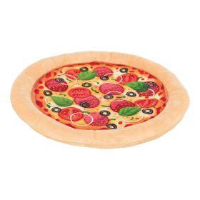 Trixie Herkku Pizza, rapiseva pehmolelu, halkaisija 26 cm