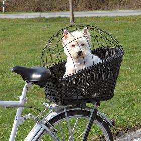Trixie Kuljetuskori polkupyörän tavaratelineelle, musta