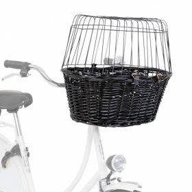 Trixie Kuljetuskori polkupyörän sarviin, musta