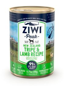 ZiwiPeak Säilyke Dog New Zealand Tripe and Lamb, 390g