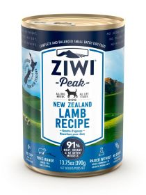 ZiwiPeak Säilyke Dog New Zealand Lamb, 390g