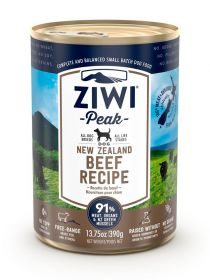 ZiwiPeak Säilyke Dog New Zealand Beef, 390g