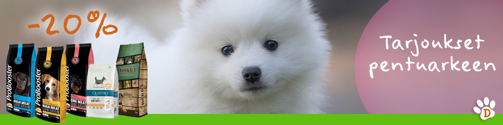 Tuotteet koiranpennuille