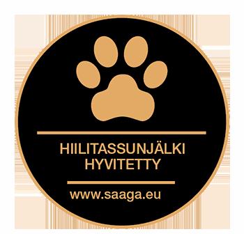 SAAGA koiranruoka - hiilitassunjälki hyvitetty | DreamPetStore